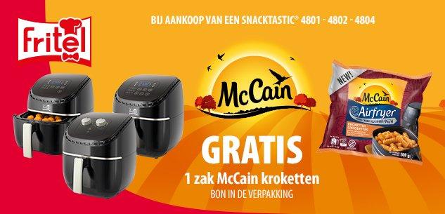 Gratis McCain Airfryer kroketten